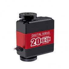 20kg.cm High Torque Digital Servo Metal Gear 180° for Manipulator Mechanical Robotic Arm LD-220MG