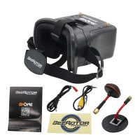 BeeRotor 5.8G 40CH FPV Goggle Video Glasses for RC DIY Racer Drone Quadcopter
