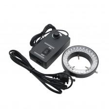 60mm 60LED Adjustable Ring Light Illuminator Lamp Source for Stereo Microscope