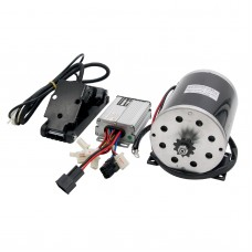 48V 1000W DC Electric Motor Kit w/ Base Speed Controller & Foot Pedal Throttle