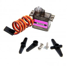 10PCS MG90S Servos 90-180° Metal Gear 9g High Speed Servos for RC Robot Helicoper