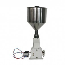 Pneumatic Filling Machine 5-50ml for Cream Food Paste Liquid Shampoo Cosmetic with Foot Pedal A02