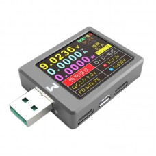 USB Tester USB Voltage Current Meter QC4+ PD3.0 2.0 PPS Quick Charge Protocol Capacity Tester X