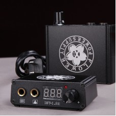 Mini Tattoo Power Supply Portable Design with LCD Display Screen X1
