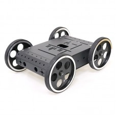 4WD Smart Robot Car Chassis Kit for Arduino Aluminum Alloy 95mm Wheels + 12V High-Power Motors C3
