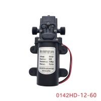 Micro Diaphragm Pump DC12V 60W 5L/min Agriculture Electric Water Pump 0142HD-12-60