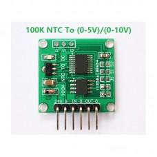 100K NTC Thermistor to Voltage Converter Module Optional Output Voltage 0-5V/0-10V