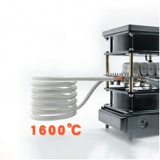 2500W ZVS Induction Heater Medium High Frequency for Aluminum Copper Iron Silver Gold
