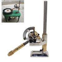 Gem Faceting Machine Jewelry Gem Faceting Equipment Angle Polisher Mechanical Arm (32 Dial Scale)