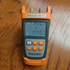Handheld Variable Optical Attenuator Optical Multimeter Digital LCD Screen NK305 60DB