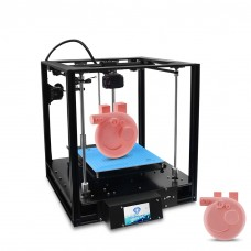 3D Printer Sapphire S Power Resume Keep Printing+Auto Leveling+Material Shortage Alarm+Base Plate