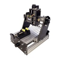 3Axis CNC Router Mini Laser Engraver Wood PCB Milling 775 Motor Kit Unfinished+2500mW Laser