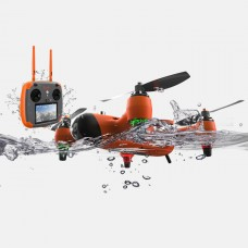 Waterproof Drone Quadcopter Drone with Waterproof Remote Controller Carry Case for Outdoor Events
