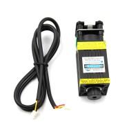 7W Blue Laser Module Focusable Laser Head Module 445-450nm Laser Engraver Part with PMW