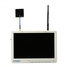 """AOMWAY FPV 10.1"""" LCD HD Screen Monitor with 40CH 5.8G Wireless Receiver DVR 1920*1200"""