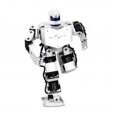 16DOF Robo-Soul H3s Biped Robotics Two Leg Human Robot Aluminum Frame Kit with Servos & Helmet Unassembled
