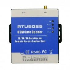 2G GSM Gate Door Opener GPRS Remote Control Access Phone Control RTU5025