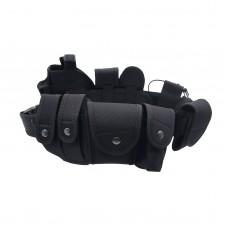 Police Duty Belt Security Guard Modular Enforcement Equipment Duty Belt Tactical 600 Nylon