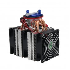 12V Thermoelectric Cooler Refrigeration 180W Water Chiller DIY Cooling System for 40L Fish Tank