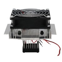 DIY Thermoelectric Refrigeration Cooler Fan Cooling System TEC1-12706