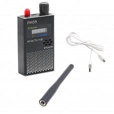 Anti-Spy GPS RF Signal Detector Hidden Camera GSM SPY Bug Detector 1MHz-8000MHz FM59