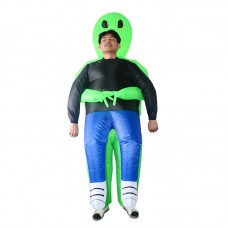 Inflatable Alien Costume Pick Me Up Costume Halloween Christmas Party Carnival Costume