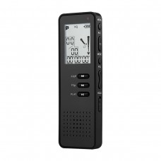 Digital Voice Recorder Mini 8GB Noise Reduction Black Support TF Card T30 8GB Version