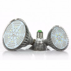 E27 LED Grow Light Bulb Full Spectrum LED Grow Bulb 50W 78 Beads for Indoor Hydroponic Plants
