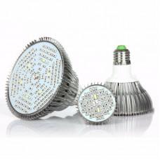 E27 LED Grow Light Bulb Full Spectrum LED Grow Bulb 80W 120 Beads for Indoor Hydroponic Plants