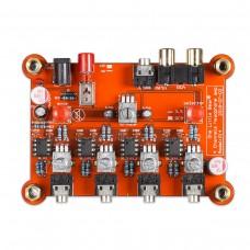 4-Channel Headphone Amplifier Splitter Independent Volume Control Master Volume Control P14
