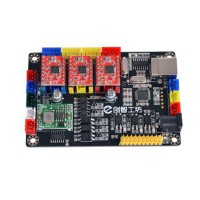 3-Axis Laser Controller Board CNC Control Board for Laser Engraving Writing Machine V6