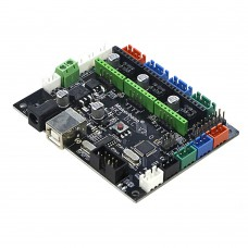 MKS DLC GRBL 3D Printer Motherboard 3D Printer Controller Board Mainboard Compatible with CNC Shield