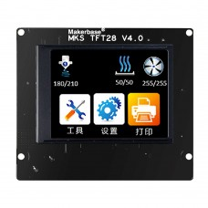 MKS TFT28 V4.0 Touch Screen with Frame 2.8Inch Full-Color 3D Printer Controller Touch Screen