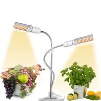 USB LED Grow Light Full Spectrum 5V 45W 88LEDs w/3H/6H/9H Timer 5 Brightness for Indoor Plants