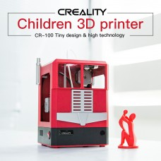 CR-100 3D Printer Children Printing Size 100x100x80mm for 1.75mm Filament Professional DIY Uses
