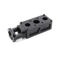 30mm Tube Motor Mount Kit Aluminum Alloy for Agriculture UAV Drone Multicopter D30 Black Kit