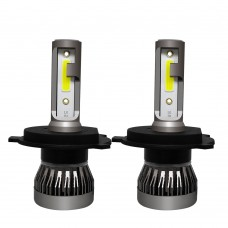 LED Headlight Bulbs H4 HB2 9003 Car Headlight Bulbs COB Waterproof 6000K 36W/Pair MINI1-H4HB29003