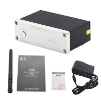 FX-AUDIO Fidelity HIFI Lossless Bluetooth Audio Receiver Fiber Coaxial Output Can Be Connected to A Pure Digital Amplifier White