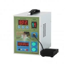 Dual Pulse Battery Spot Welder Welding Machine with Pedal LED Light EU UK Standard  SUNKKO 787A+