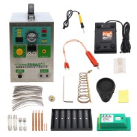 3 In 1 SUNKKO 709AD+ Battery Pulse Spot Welder 220V For 18650 Battery Pack Welding + 70B Welding Pen