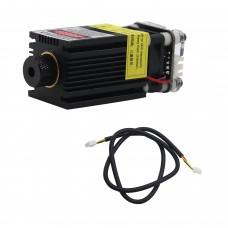 2500mW 445nm Laser Module 12V Laser Cutter Head 3P with TTL PWM Control Power Adjustable Focus