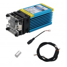12V 15W 450nm Blue Laser Module 15000mW Laser Cutting Module to Engrave Stainless Steel 3mm Wood