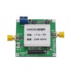 25MHz-6GHz HMC833 Phase-Locked Loop Module RF Signal Generator 7V to 9V HMC833 Core Board
