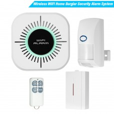 Mini GSM WiFi Alarm Wireless Home Security Alarm System Volume Recognition APP Control CS100-Wifi