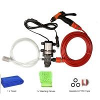 12V High Pressure Car Washer Portable Car Washer Machine Water Gun Pump Cleaner Car Care Package 1