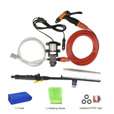12V High Pressure Car Washer Portable Car Washer Machine Water Gun Pump Cleaner Car Care Package 2