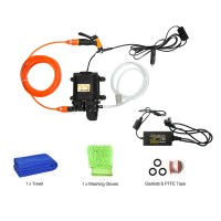 12V High Pressure Car Washer Portable Car Washer Machine Water Gun Pump Cleaner Car Care Package 3