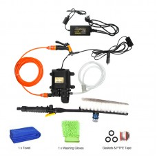 12V High Pressure Car Washer Portable Car Washer Machine Water Gun Pump Cleaner Car Care Package 4