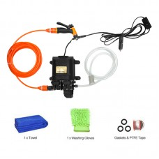 12V High Pressure Car Washer Portable Car Washer Machine Water Gun Pump Cleaner Car Care Package 5