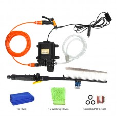 12V High Pressure Car Washer Portable Car Washer Machine Water Gun Pump Cleaner Car Care Package 6